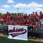 Varsity Girls Track D3 State Champs!
