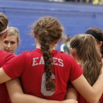 Frankenmuth High School Varsity Volleyball beat Tigers 3-0