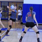 Frankenmuth High School Volleyball Varsity beats Croswell-Lexington High School 2-0