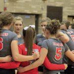 Frankenmuth High School Varsity Volleyball beat Bridgeport 3-0