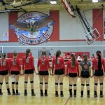 Frankenmuth High School Varsity Volleyball beat Cardinals 3-0