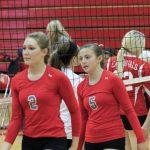 Frankenmuth High School Varsity Volleyball beat Bay City John Glenn 2-1