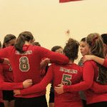 Frankenmuth High School Varsity Volleyball falls to Tigers 0-2