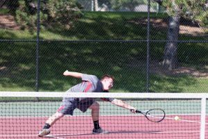 Varsity Boys Tennis vs. Powers