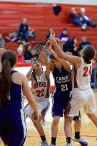 Girls Basketball vs Caro 2/9/17