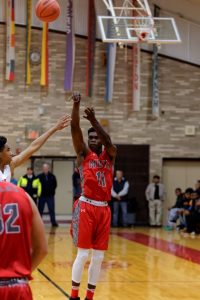 Basketball District Championship vs Bridgeport 3/10/17