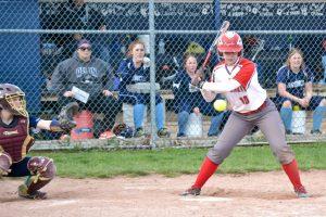 Varsity Softball vs N. Branch 04-18-17