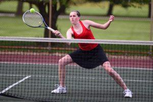 Girls Tennis @ Bay City All Saints (Delta College) 5/10/17