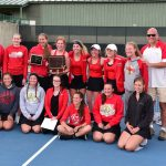 Frankenmuth High School Girls Varsity Tennis finishes 1st place