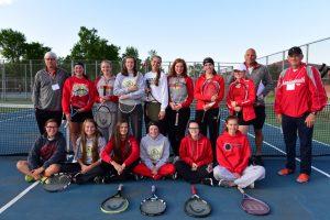 Girls Tennis – State Finals – June 2, 2017 (Holly HS & Fenton HS)