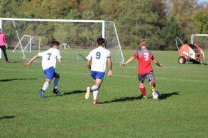 Boy's District Soccer vs Birch Run 10/18/17
