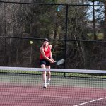 Girls Varsity Tennis, Ovid-Elsie, April 17, 2018