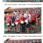 FHS Girls Cross Country TVC-East Champions / Boys are Second