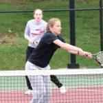 Girls Tennis, Garber, May 3, 2018