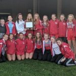 Frankenmuth Girls Cross Country TVC-East Champions / Boys 3rd!