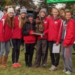 Frankenmuth Girls Cross Country Team Regional Champions!