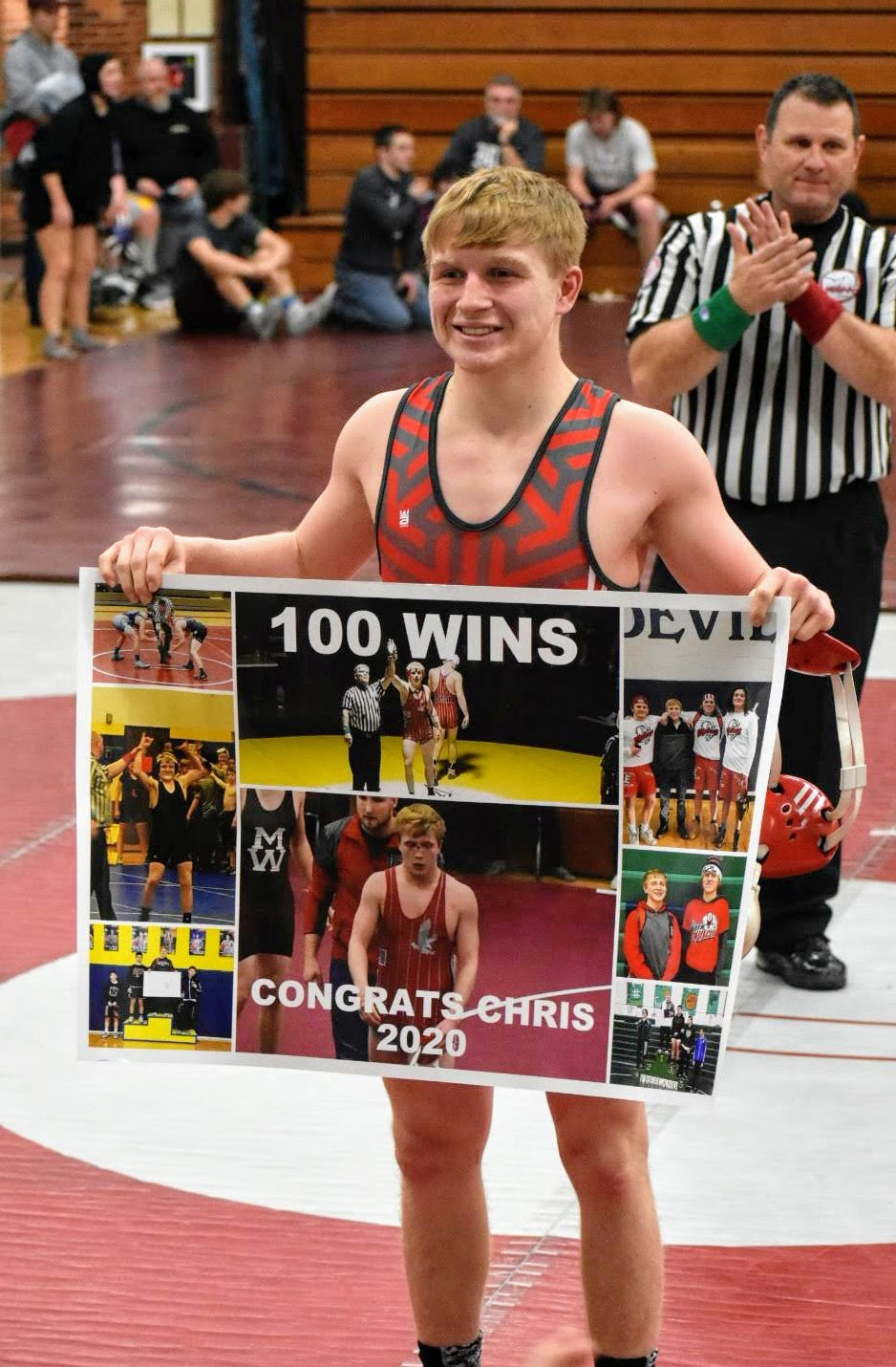 Chris Mills Captures 100th Career Win at Mayville Team Tournament – Konner Roche Gets Revenge Over High Ranked Opponent from Lakeville