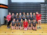 Girls Freshman Volleyball defeats Alma 2-0