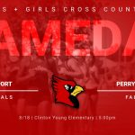 Game Day Info – Boys + Girls XC vs Perry Meridian – 8/18