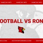 Freshman Football vs Roncalli – Game Day Info