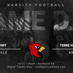 Varsity Football vs Terre Haute South – 10/9