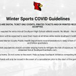 Winter Sports COVID Guidelines