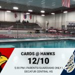 Swimming @ Decatur Central – 12/10