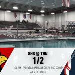 Swimming @ Terre Haute North – 1/2