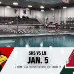 Swimming vs Lawrence North – 1/5
