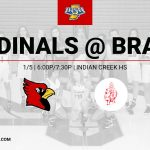Girls Basketball @ Indian Creek – 1/5