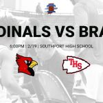 V/JV Boys Basketball vs Terre Haute South – 2/19