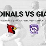 V/JV Baseball vs Ben Davis – 4/9