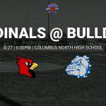 V/JV Baseball @ Columbus North – 4/27