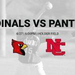 Varsity Softball vs North Central – 4/28