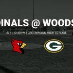 Varsity Baseball @ Greenwood – 5/1