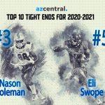 AZ Central Top 10 Tight Ends for 2020-2021