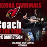 Congratulations to Coach G 2020 Coach of the year!!
