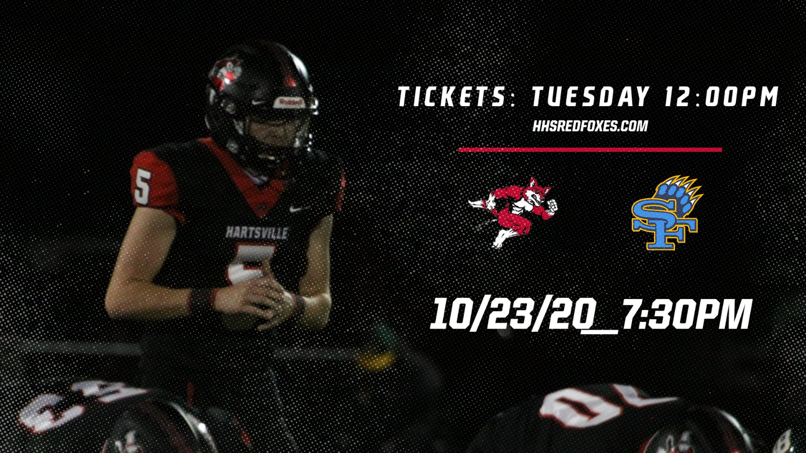 Hartsville vs. South Florence Football Tickets