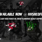 Lady Red Foxes Host West Florence: Monday Night