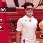 Cesare Edwards surpasses 1000 Career Points