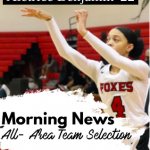 Aletrice Benjamin Selected to All-Area Team