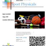 Sports Physical for All Hartsville Student-Athletes: May 3
