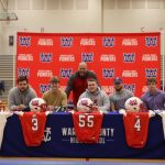 Five more Pioneers have signed to play in college.