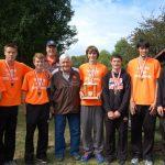 The Boys Cross Country Team Dominate the Don Hardin Invitational Race