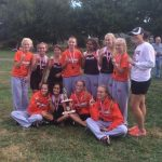 Girl's LCL Cross Country Champions 2015
