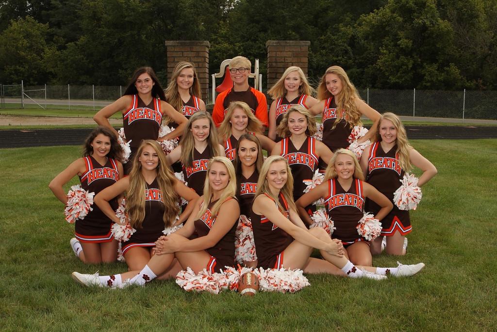 Varsity Cheerleaders 2017