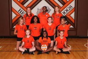 HMS 8th grade Volleyball 2018