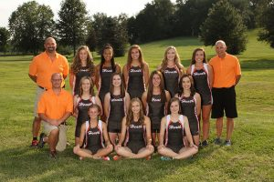 HHS Girls Cross Country 2018