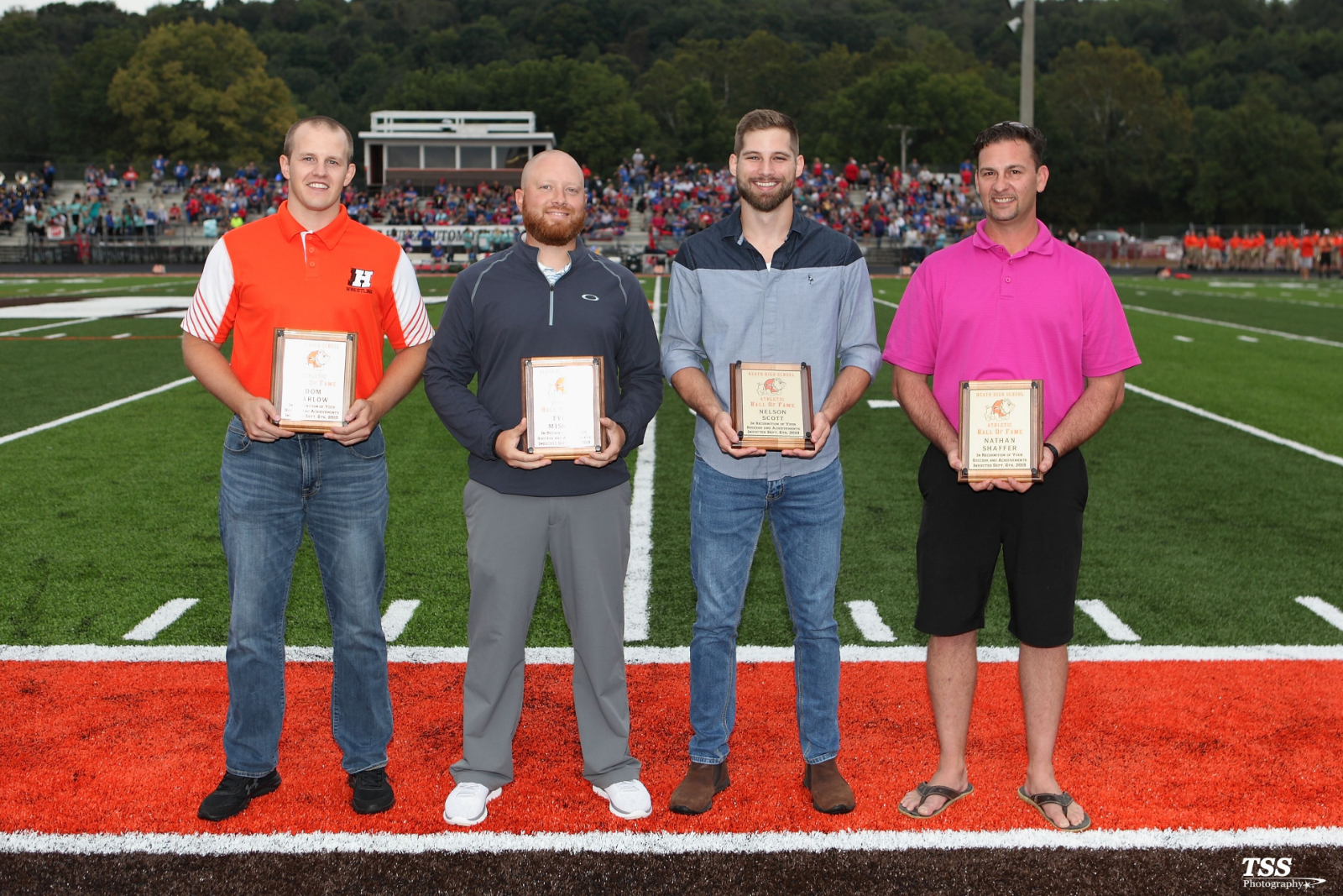 Heath Athletic Hall of Fame Inductees 2019