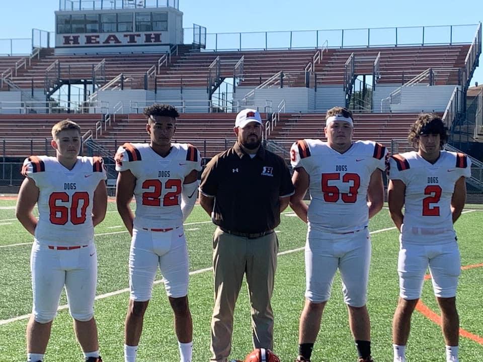 Senior Football Athletes 2020
